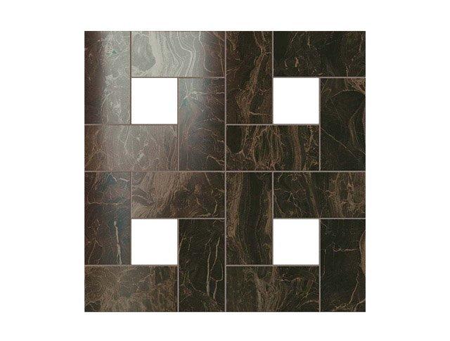 Керамогранит 45x45 S.M. Frappuccino Dark Mosaic Lap
