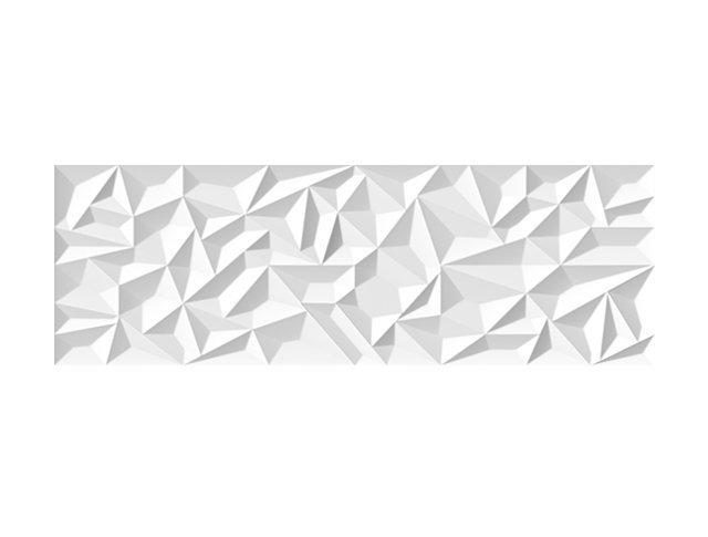 Настенная плитка  33,3x100 Prisma White Matt