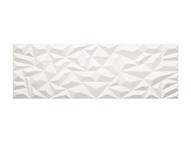 Настенная плитка  33,3x100 Prisma White
