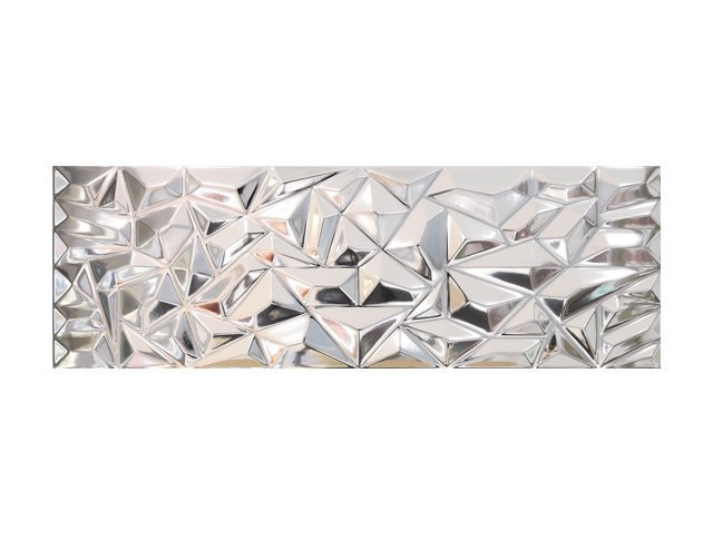 Настенная плитка  33,3x100 Prisma Silver