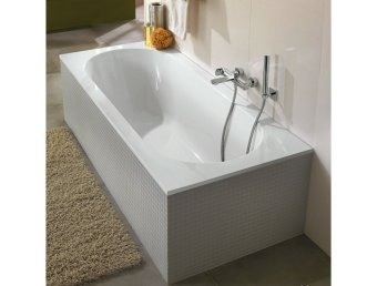 Квариловая ванна 170x75 Villeroy&Boch Oberon UBQ170OBE2V01 с ножками