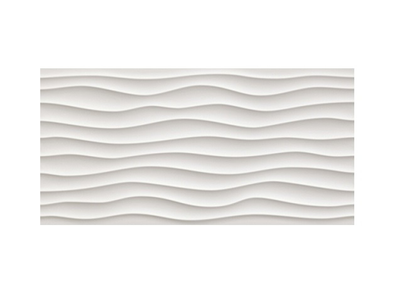 Настенная плитка 3D Dune White Matt. 40x80