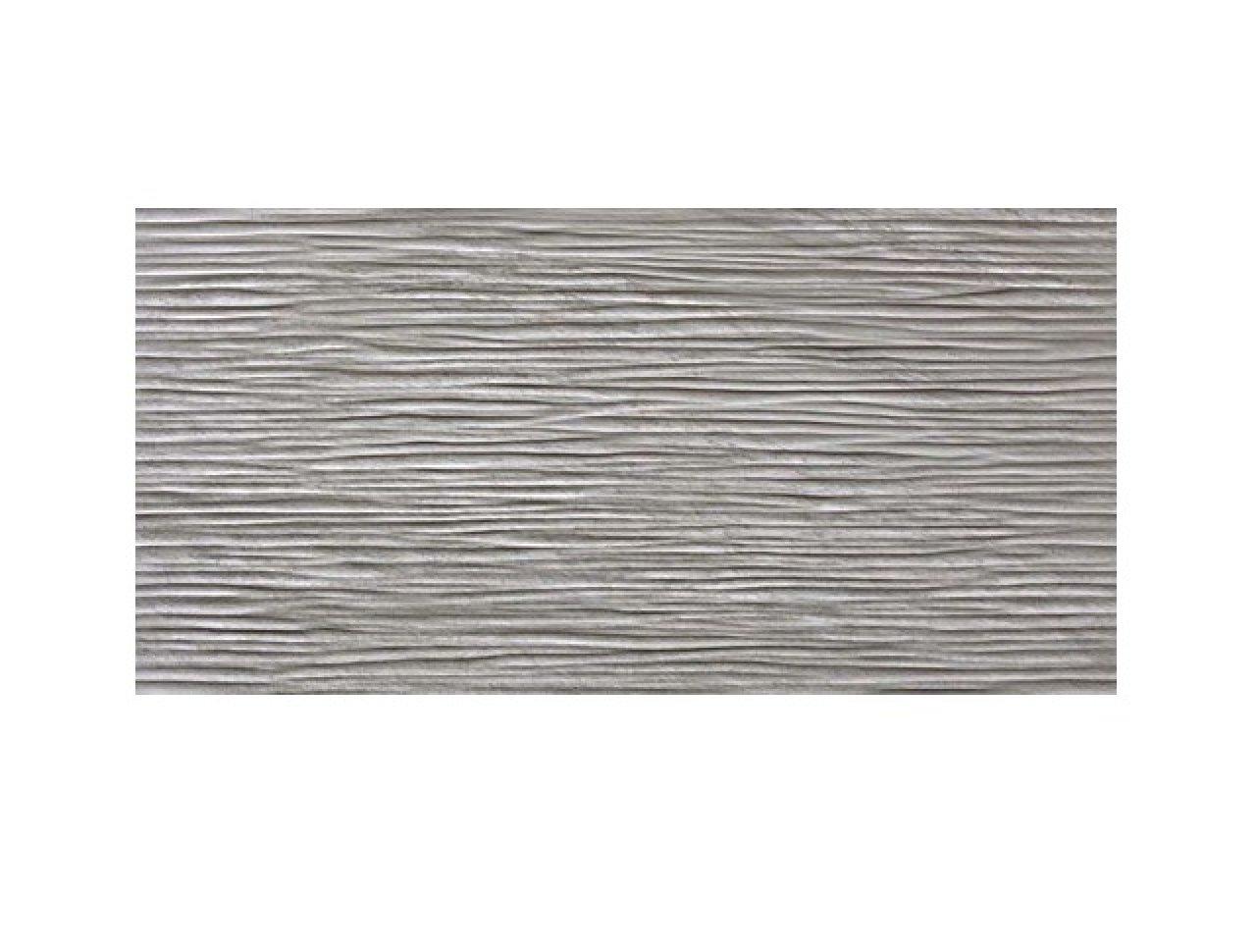 Настенная плитка Brave 3D Wave Grey 40x80