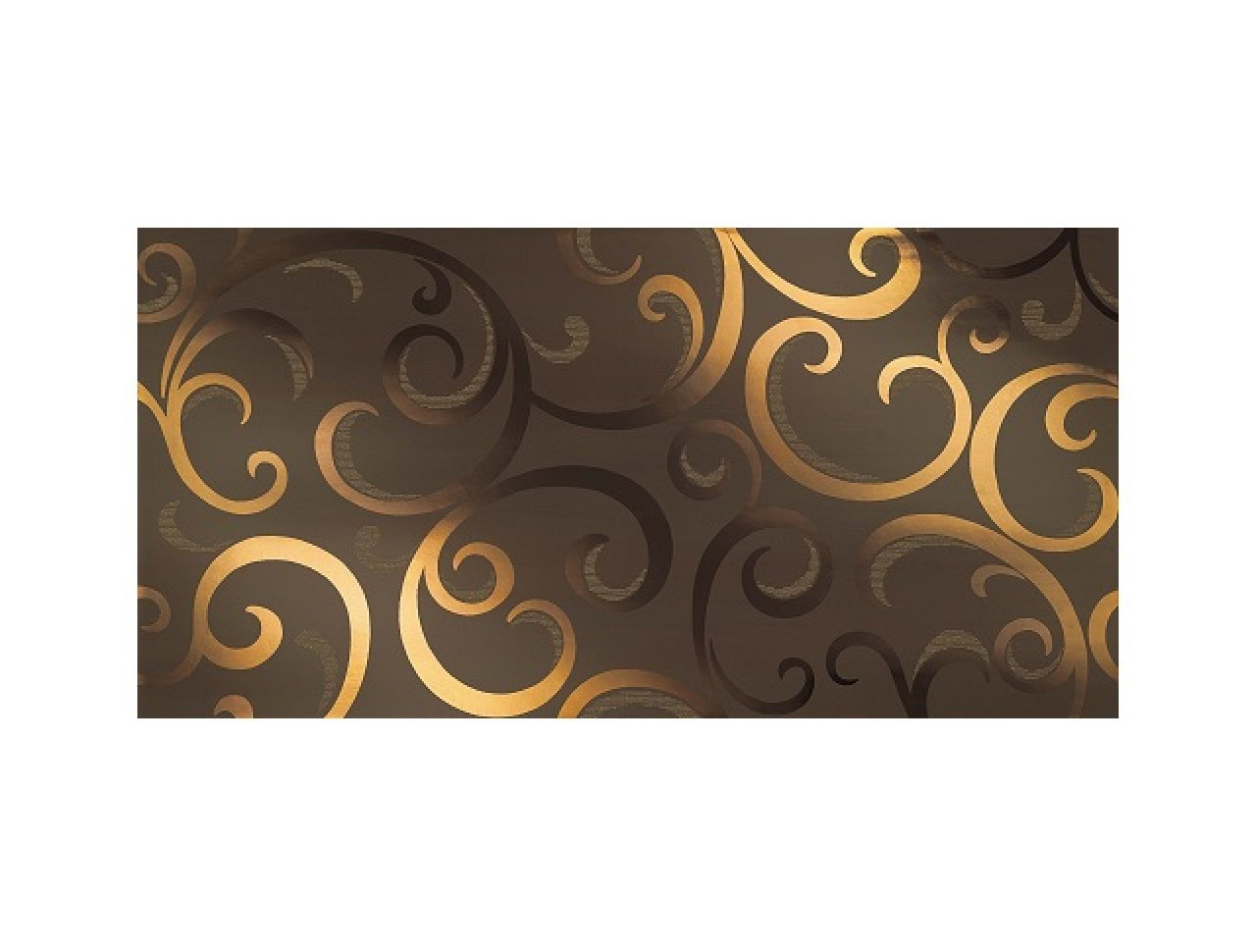 Настенная плитка Mark Moka Gold Damask 40x80