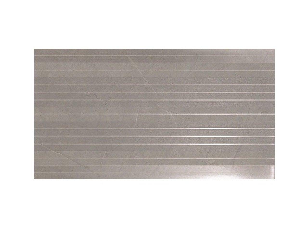 Настенная плитка Marvel Silver Stripe 30.5x56