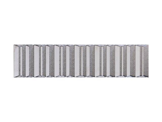 Керамическая плитка  15x60 Folding Silver