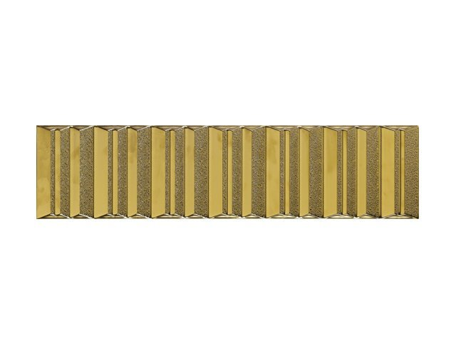 Керамическая плитка  15x60 Folding Gold