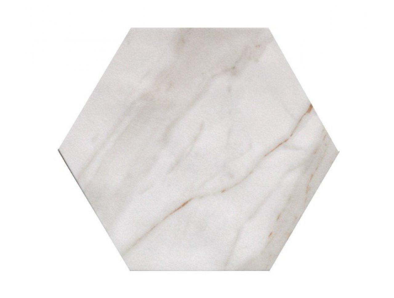 Напольная плитка FAP Roma Calacatta Esagono 21.6 x 25 см, Арт. fLVA