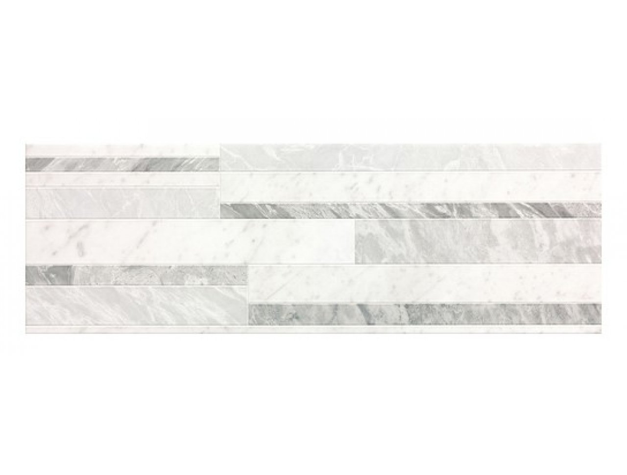 Настенная плитка FAP Roma Diamond Deco White Brillante 75 x 25 см, Арт. fNIZ